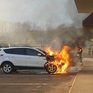 Colfax Car Fire