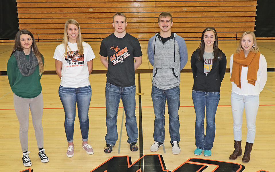 2016-17 Elk Mound All-Conference Basketball Players