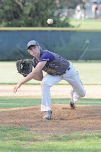 Bryce Boda pitching