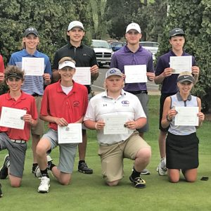 2018 DSC all conference golf