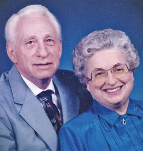 DONALD ARTHUR AND ANN MARIE (RITZINGER) ZITTLEMAN