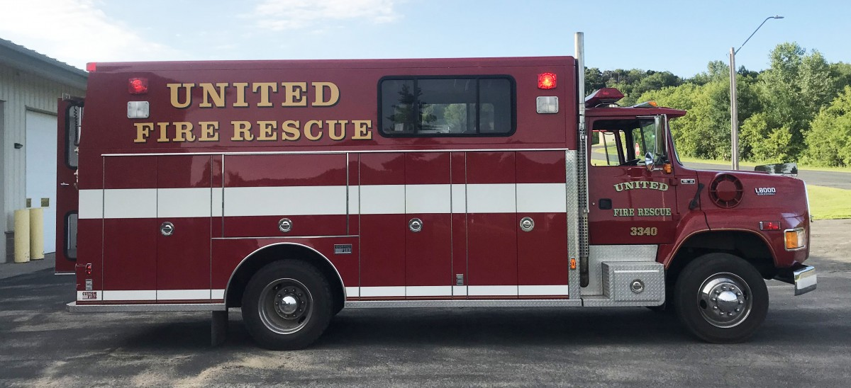 New GC Fire Rescue Vehicle