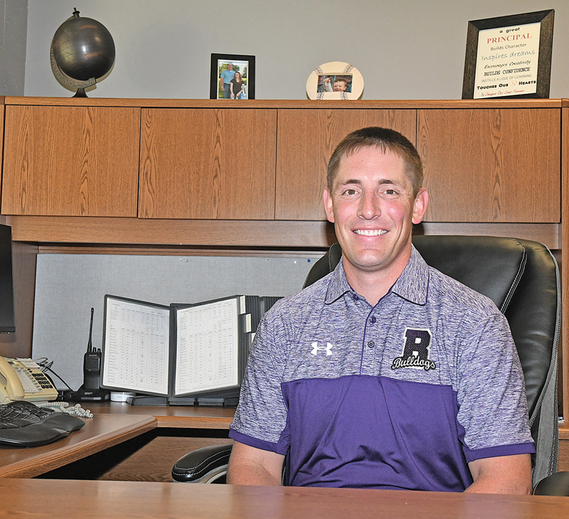Tyler Moy, new BHS/MS principal