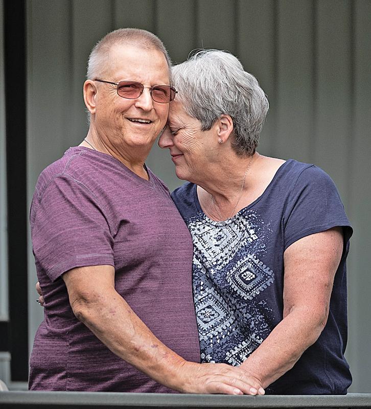 Ed and Darlene Waters