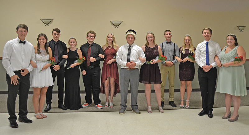 2018 Colfax Homecoming Court