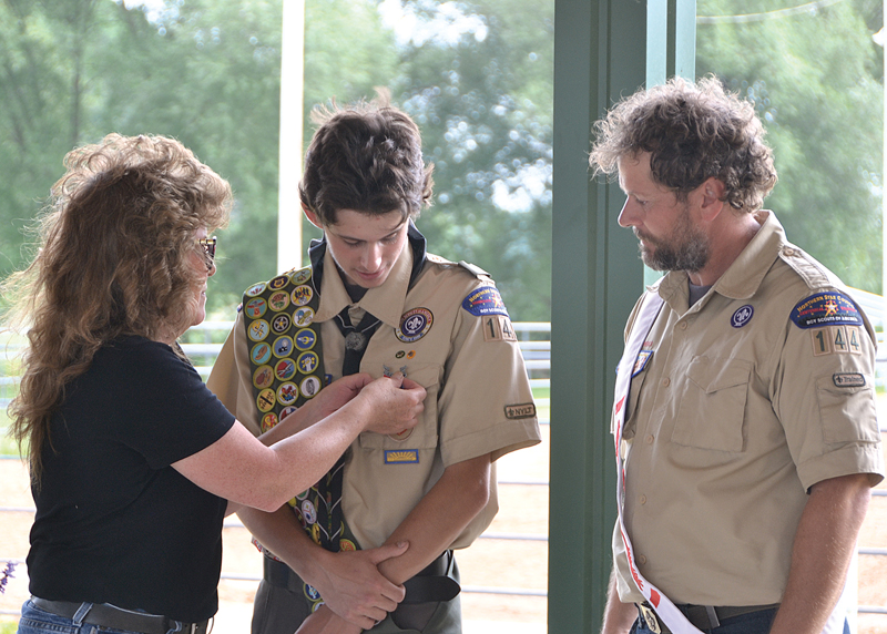 Eagle Scout Nolan Stodola