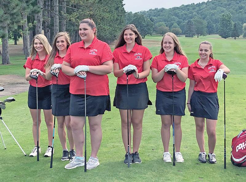 2018 Colfax girls' golf team