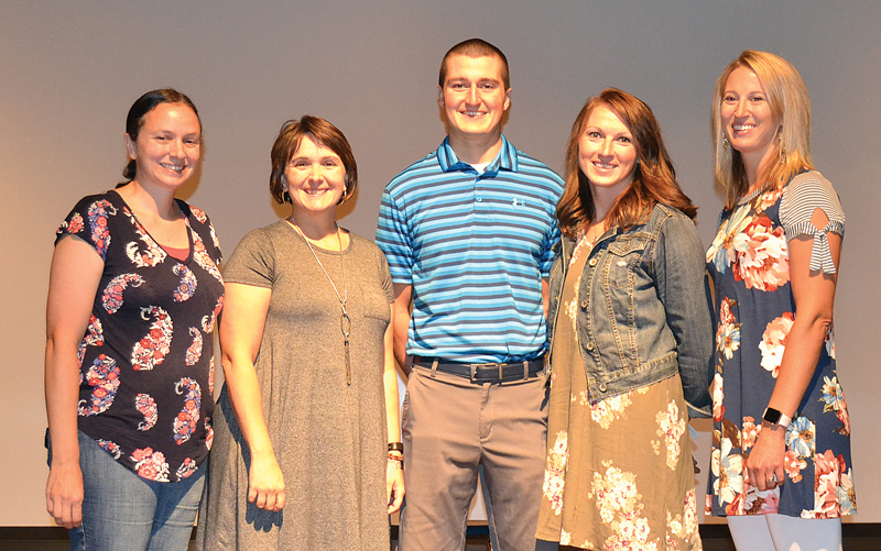 2018 new elk mound teachers