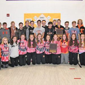 Elk Mound boys' and girls' cross country teams