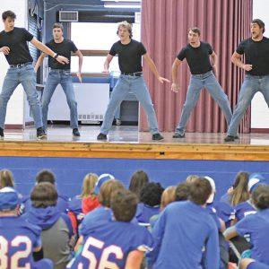 Senior Males dance