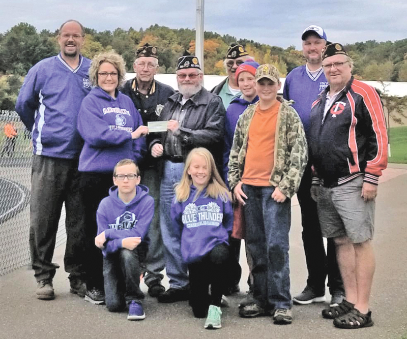 Blue Thunder receives donation