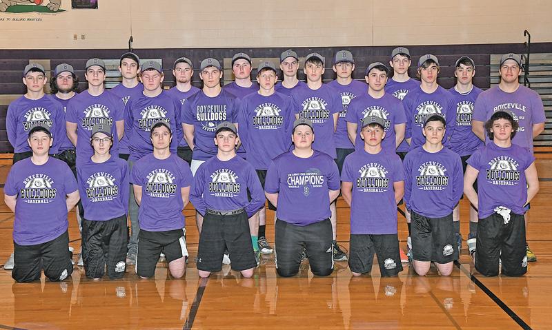 2019 BV Baseball team photo