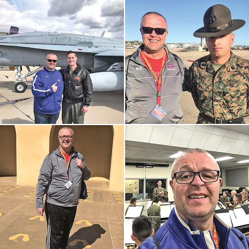 Glenwood City teacher Matt Lamb was selected to attend the 2019 United States Marine Corps Educator Workshop at Recruit Depot San Diego.