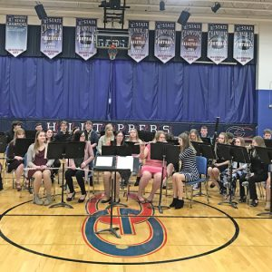 GLENWOOD CITY musicians participated in solo and ensemble competition that was hosted at Glenwood City High School on Tuesday, March 12. —photo submitted