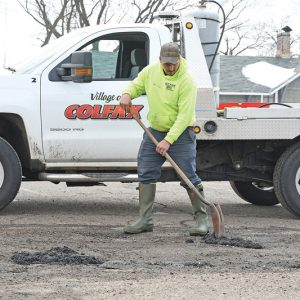VIllage of Colfax Road Repair