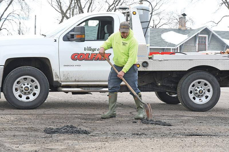 VIllage of Colfax Road Repair