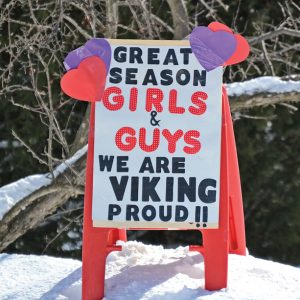 Vikings Season Sign