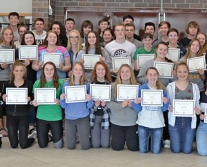 CHS transcripted credit students