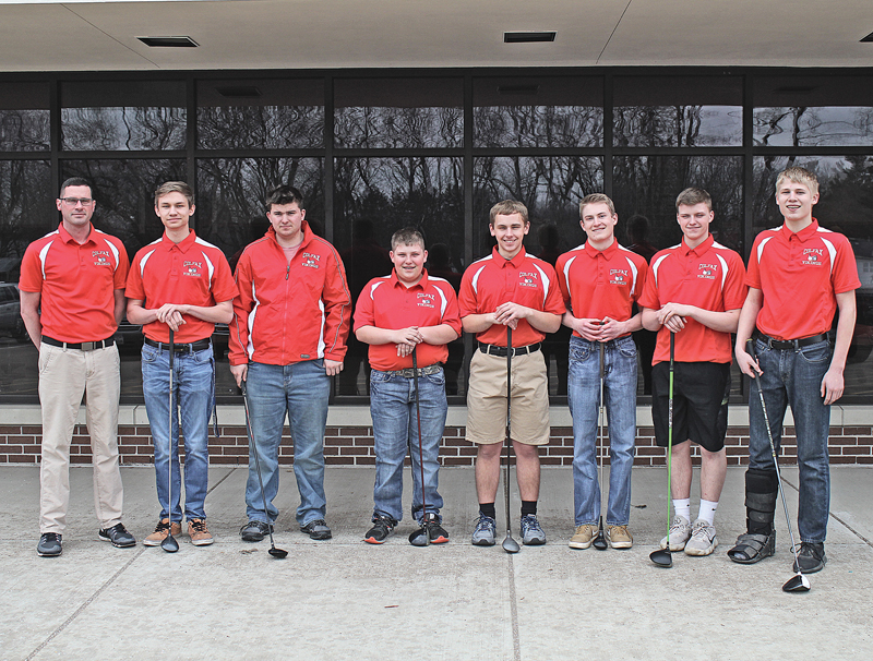 Colfax Golf team photo