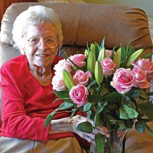 Millie Packer 105th Birthday