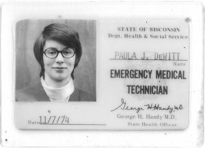 Paula DeWitt first license
