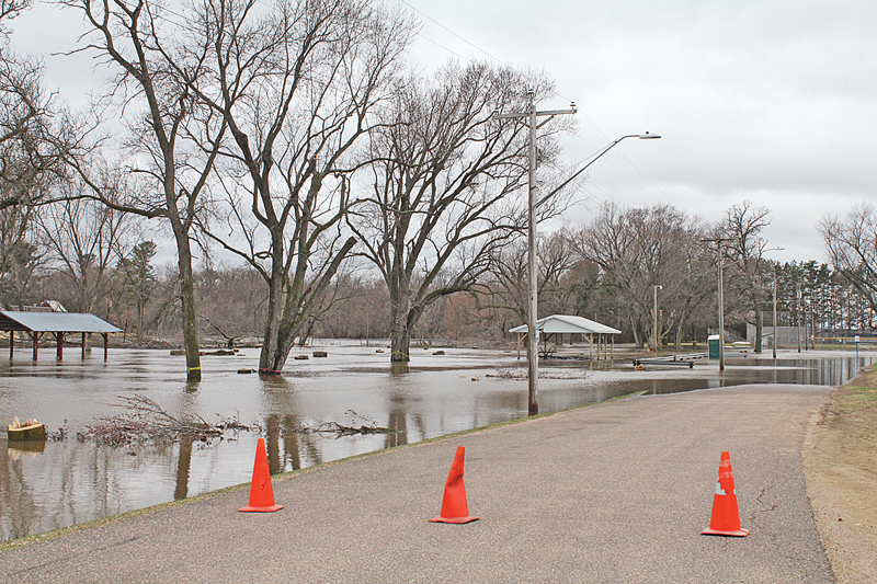 Tiffany Creek Flooding