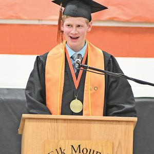 Cameron Johnson 2019 Elk Mound Graduation