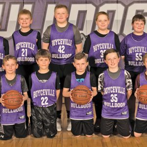 Boyceville 5th grade boys basketball team