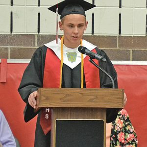 CHS graduation Dalton Bradford