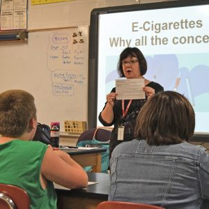 Colfax Middle School vaping story