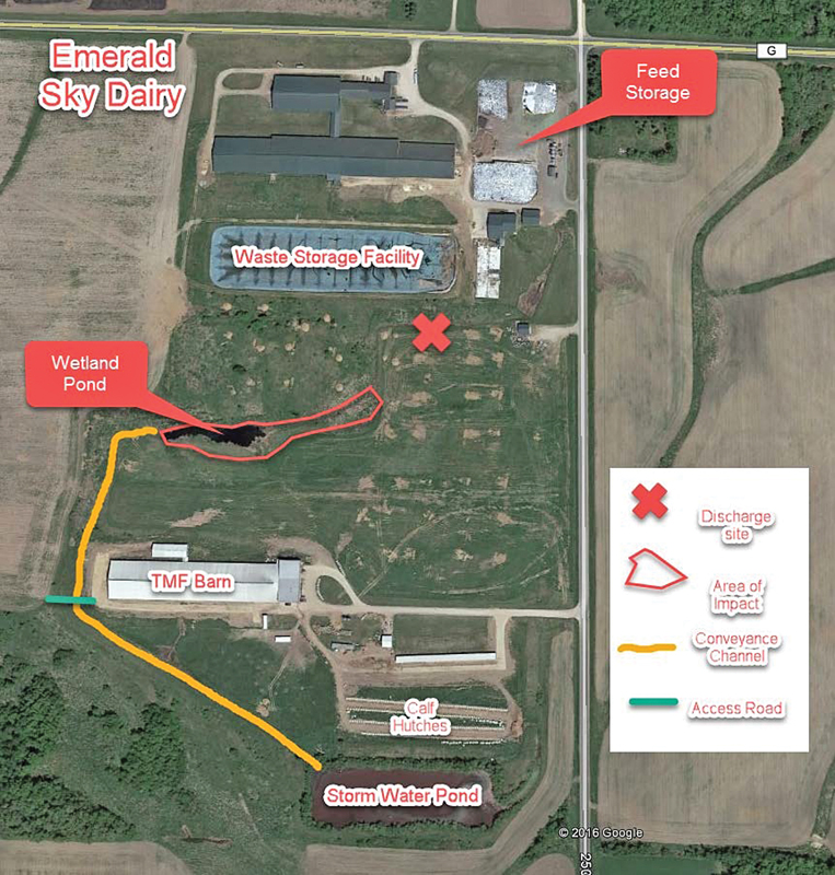 Emerald Sky Dairy Manure Spill image