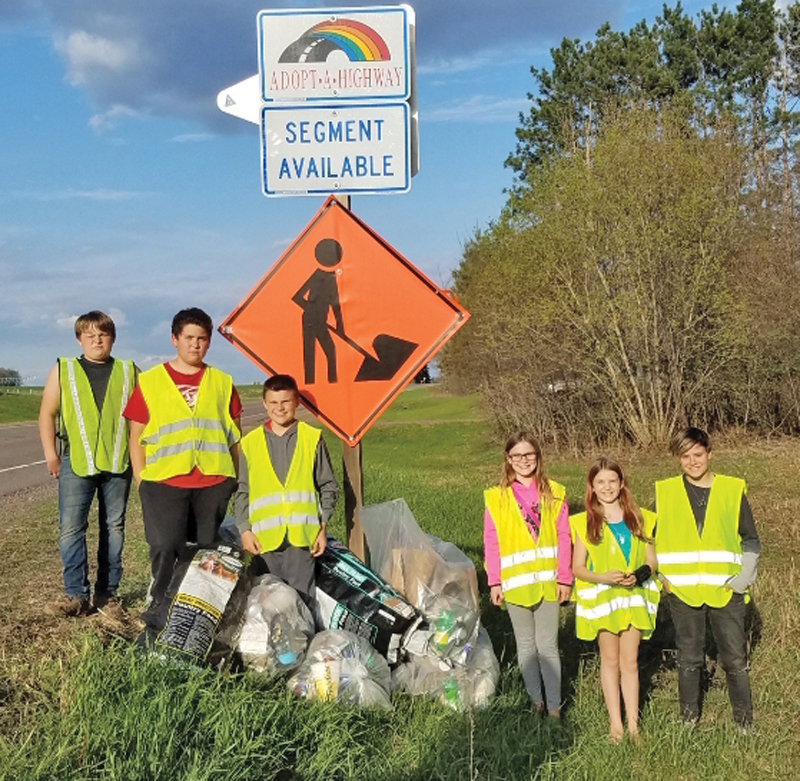 Colfax Comets clean ditch
