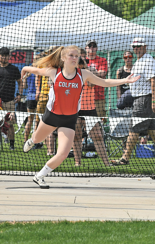 2019 State Track Friday Meet Morgan Jensen