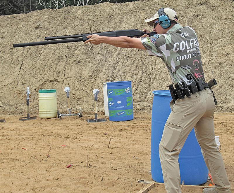 GAVIN Wenz shooting at Gun Match
