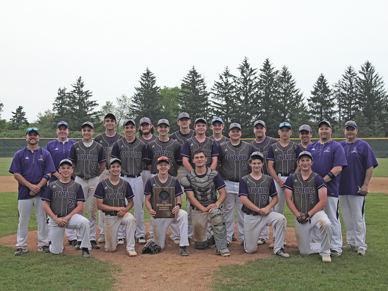 Boyceville Bulldogs baseball team photo