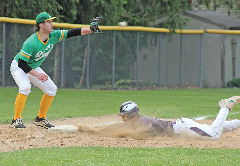BV baseball vs Regis regionals Trett Joles