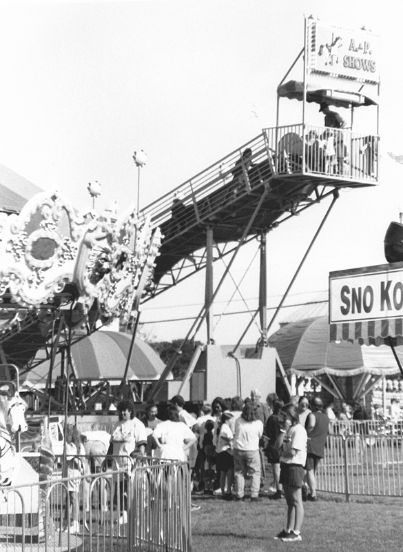 The midway at the Colfax Free Fair