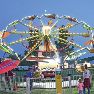The Hang Glider at the St. Croix County Fair