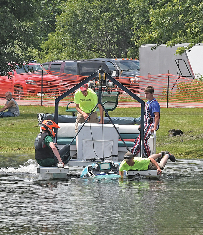 2019 Knapp Water Cross pontoon