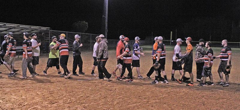Colfax Monday Night Men SB shake hands after game