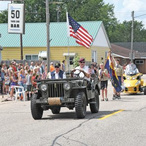 2019 Wheeler Days Old Glory in Parade