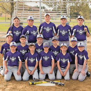 BV 5th Grade Baseball team