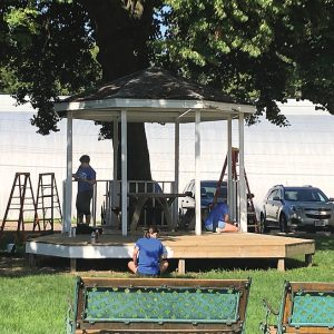 Day of Caring - Gazebo