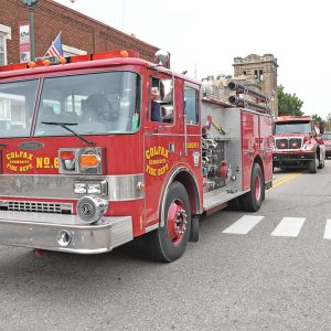 2019 Firefighters Ball Parade truck photo