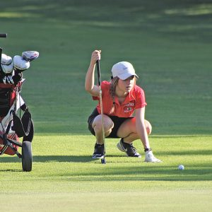 Colfax Girls Golf Morgan Schuesner