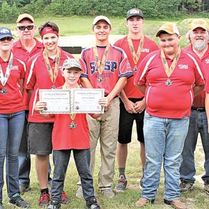 Colfax Scholastic Trap team photo