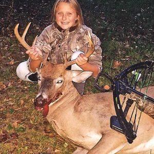 Aubrey Malean first buck