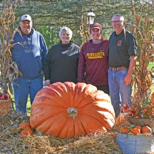 Bob Fehr pumpkin group photo