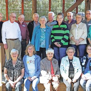 CHS Class of 1960 reunion photo