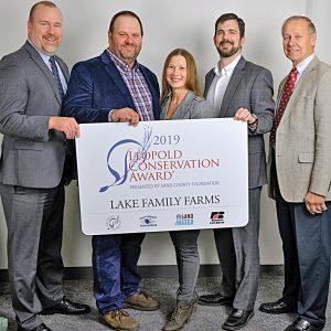 2019 Leopold Award to Lake Family Farms